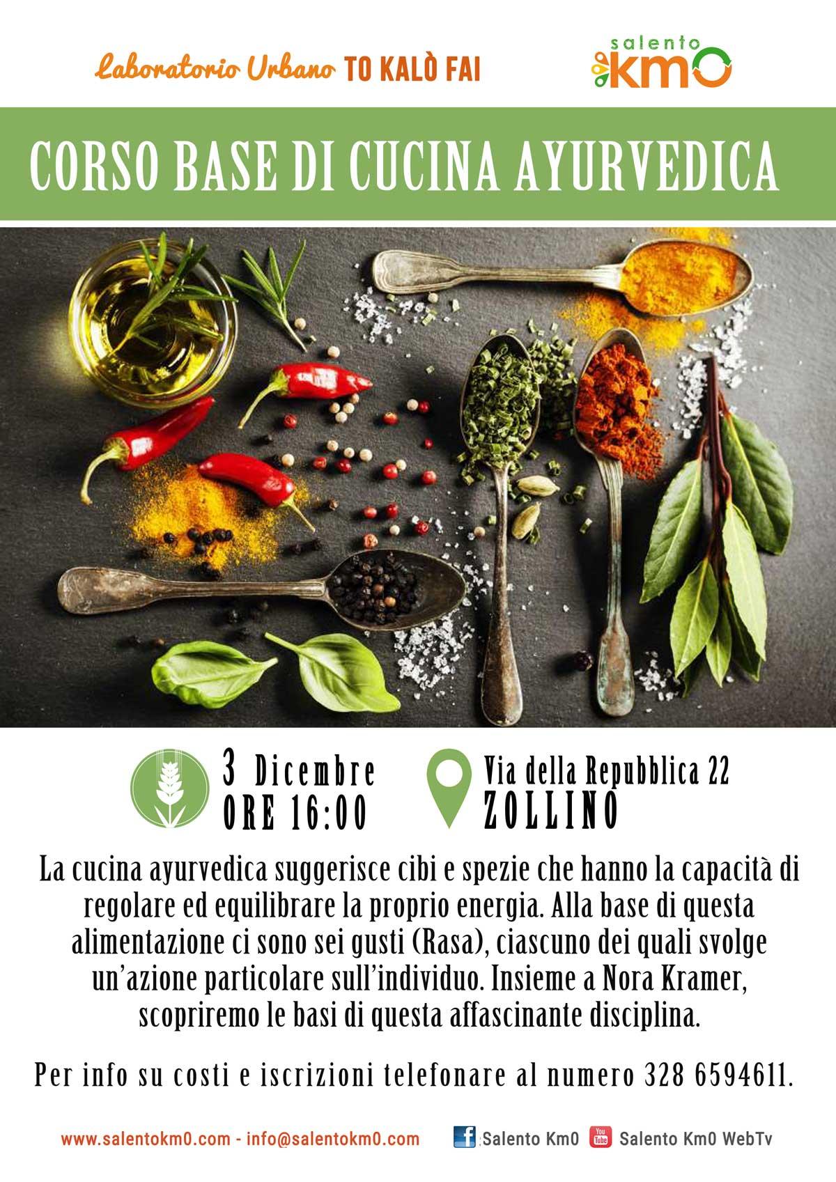 corso base di cucina ayurvedica | salento km0 - Corso Base Di Cucina
